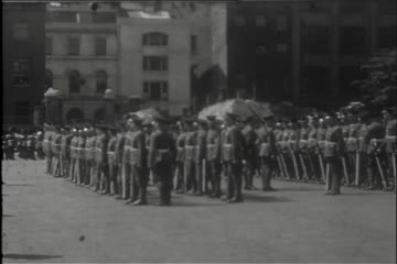 play video for HAC Historic Compilation: 1. King's Guard 1938; 2. Queen's Guard 1958; 400th Anniversary Celebration, 1937