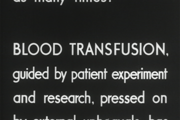 play video for Blood transfusion service