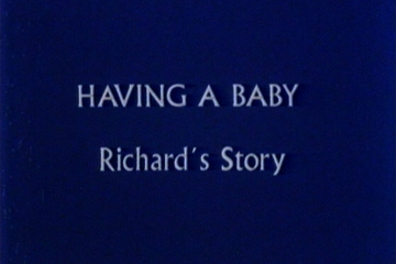 play video for Childbirth: Richard's story