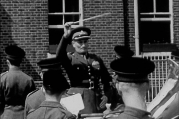 play video for Royal Artillery. Freedom of the Borough