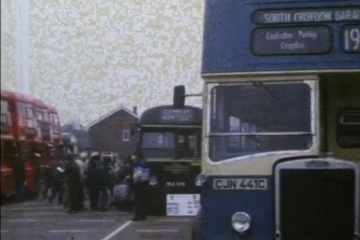 play video for Barking RT Bus Rally and Routemasters on routes 225 and 261