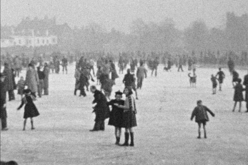 play video for Ice Skating on Wimbledon Common and Binnegar Hall, Dorset