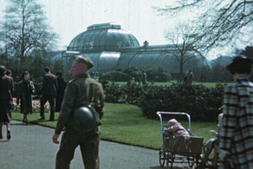 play video for Kew Gardens during the War